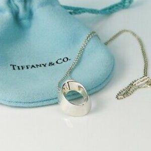 Tiffany Frank Ghery oval morph necklace